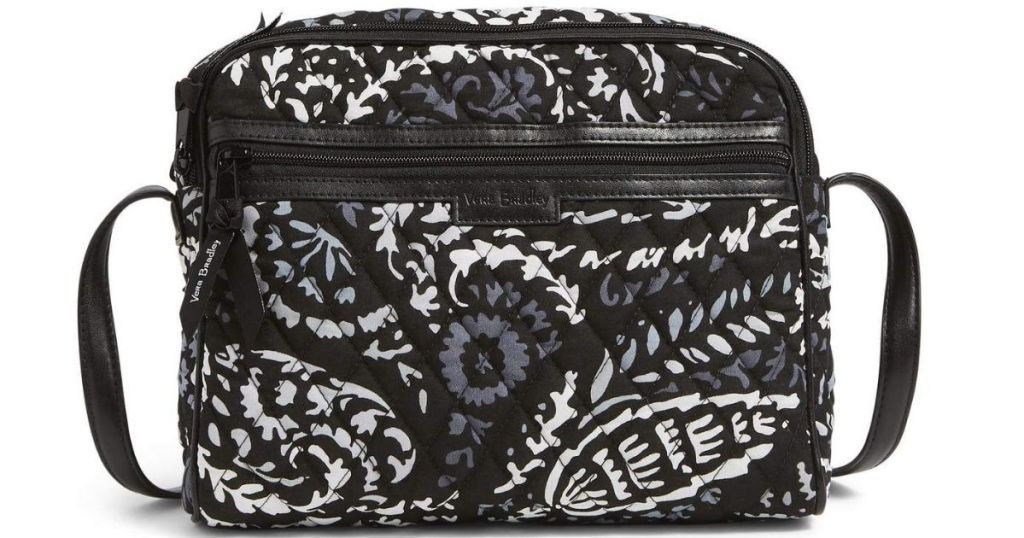 black and white Vera Bradley bag