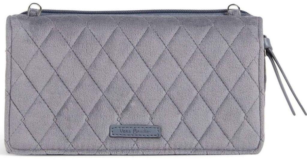silver Vera Bradley wallet