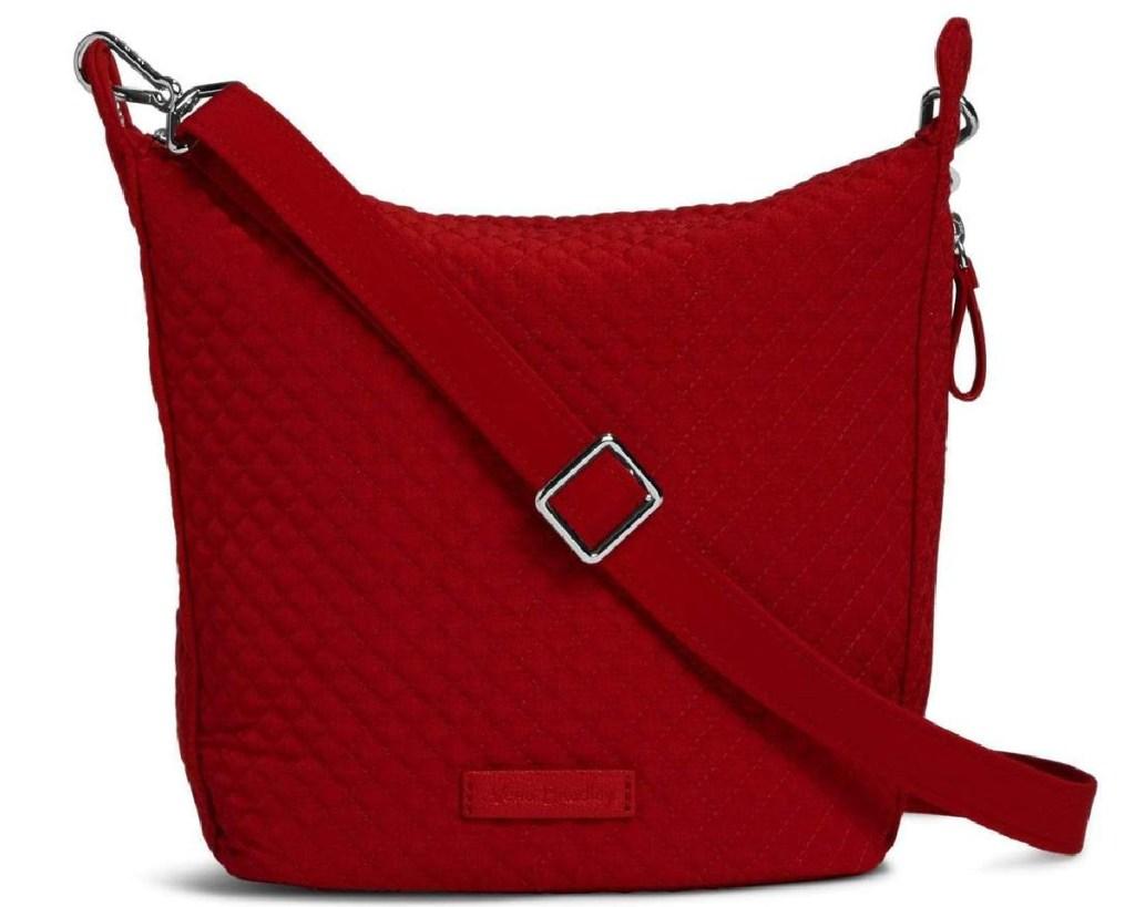 vera bradley hobo bag in red