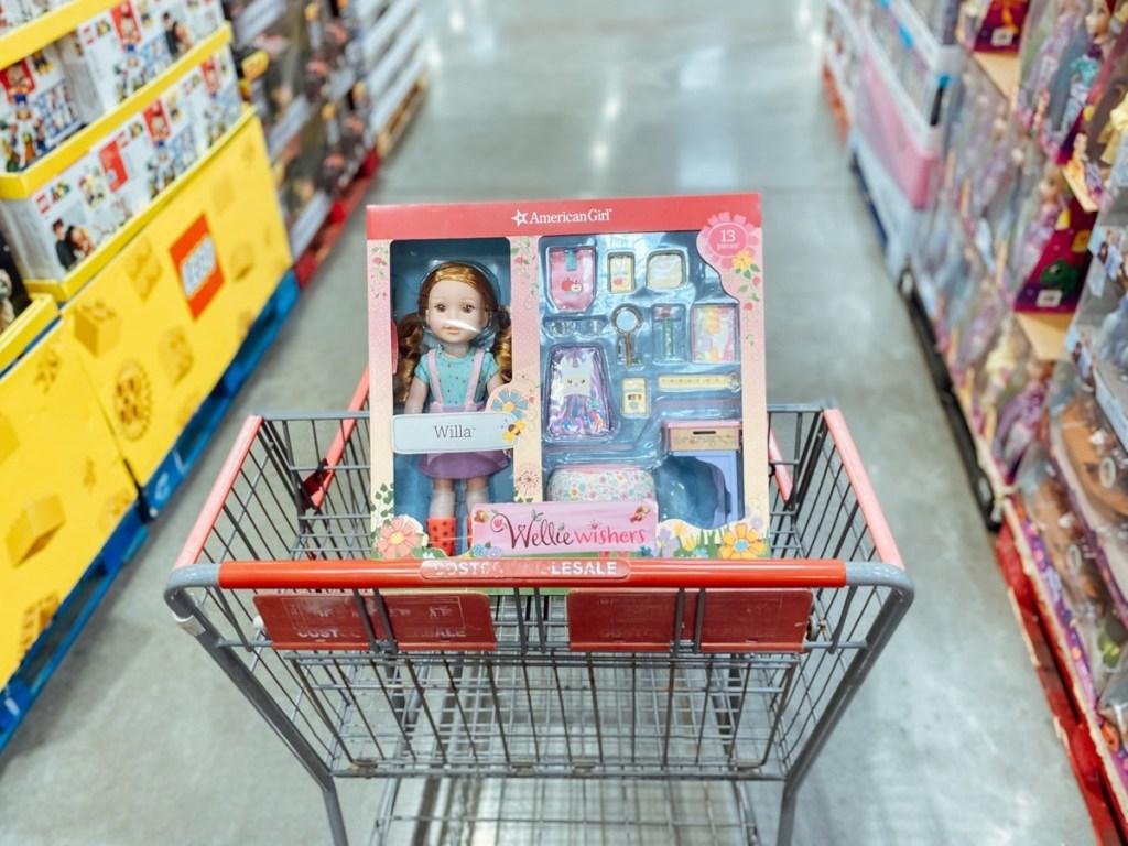Wellie Wisher bundle in Costco cart