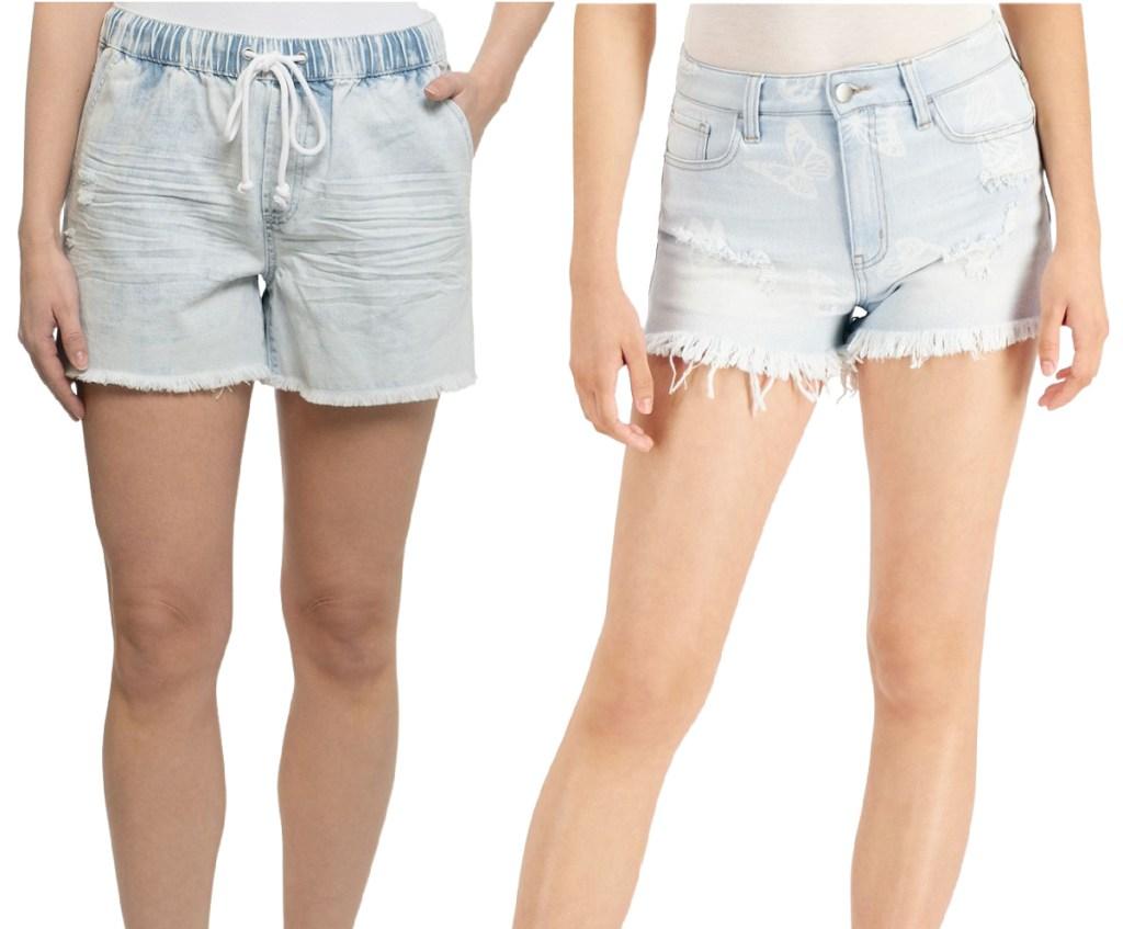 women's jean shorts from macy's